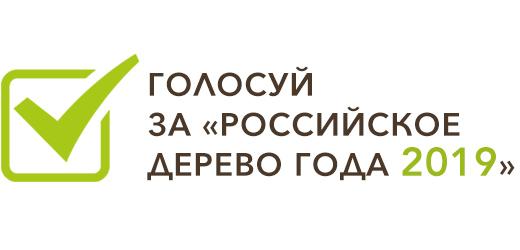 Голосуй за «Российское дерево года 2019»
